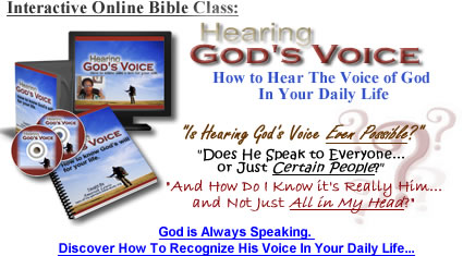 Online Bible Class on How to Hear God's Voice