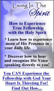 Learn to Fellowship with the Holy Spirit!
